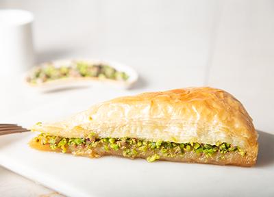 baklava with pistachio (carrot slices) - Thumbnail