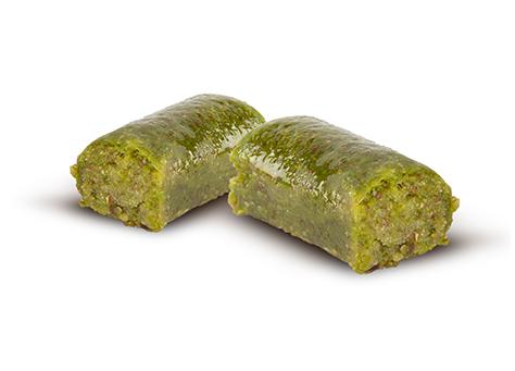 Winding with pistachio